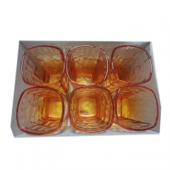 海客琥珀四方杯     210MLH0403-1