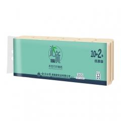 沁新日子系列本色竹纤维卷纸660g